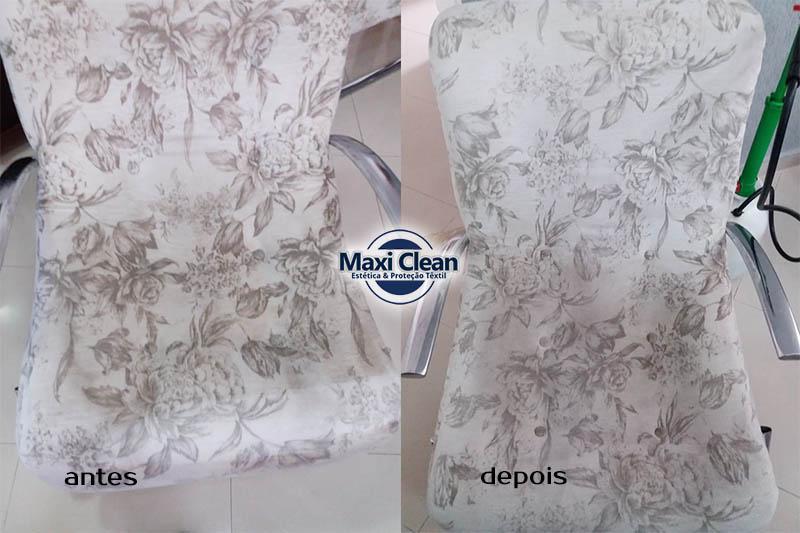 Higienização de Poltrona